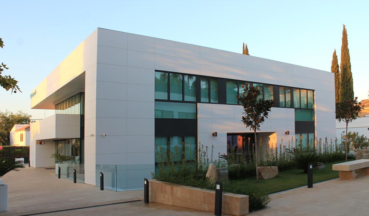 La Arruzafa edificio E3, destinado a consultas de oftalmología.