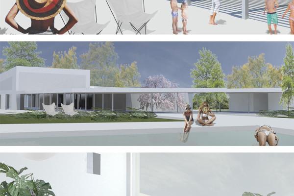 Proyecto integral de instalaciones deportivas del circulo de la amistad.